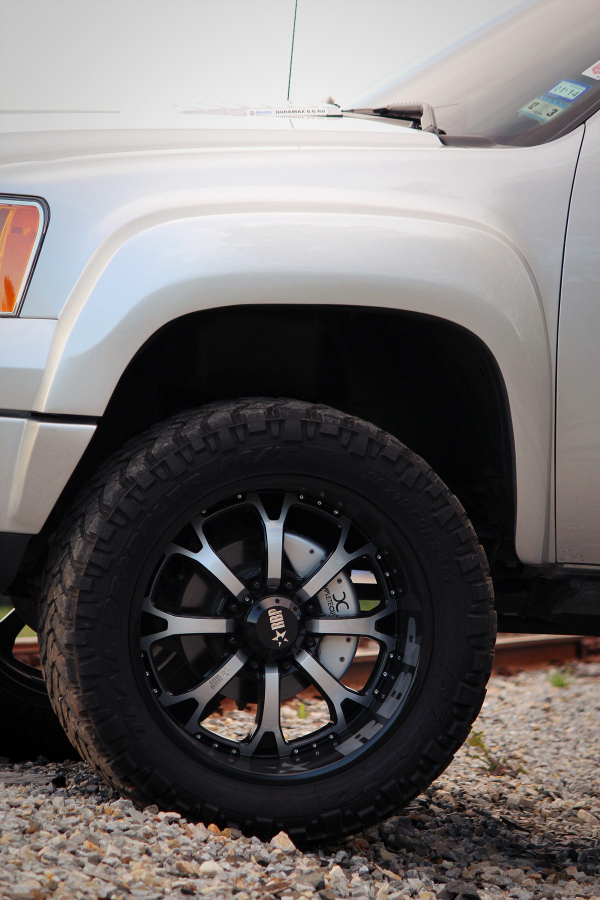 Find used 2011 GMC Sierra 2500 HD 4x4 DURAMAX SEMA 8Lug ...
